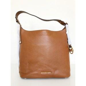 New Michael Kors Bedford Belted Large Shoulder Bag